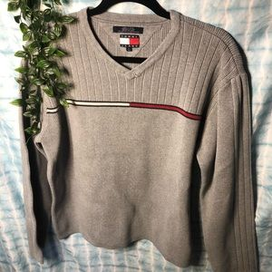 Tommy Hilfiger Sweater Grey Size Large